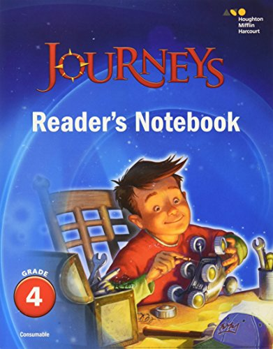 9780544592650: Journeys: Reader's Notebook Grade 4