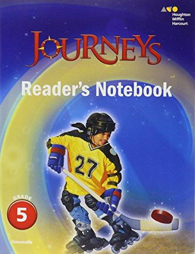 9780544592667: Journeys: Reader's Notebook Grade 5