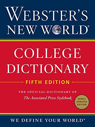 9780544598225: Webster's New World College Dictionary, Fifth Edition