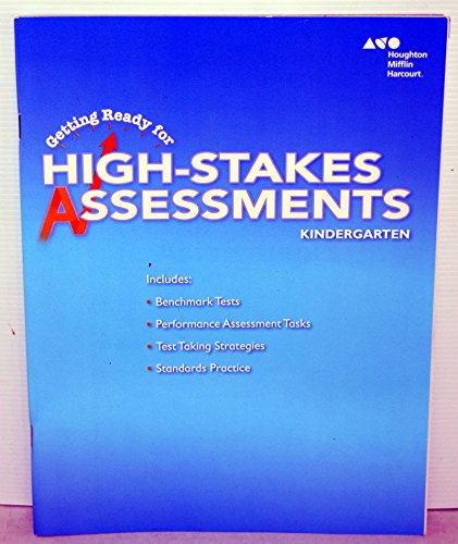 9780544602755: Go Math!: Getting Ready for High Stakes Assessments, Student Edition Grade K