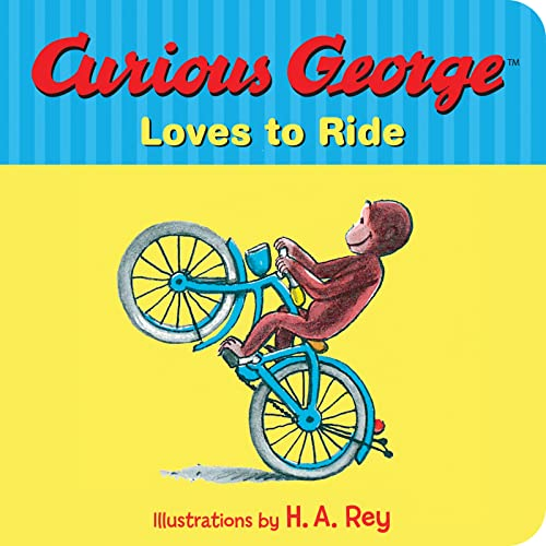 9780544611023: Curious George Loves to Ride