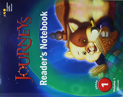 9780544619401: Journeys: Reader's Notebook Consumable Collection Grade 1