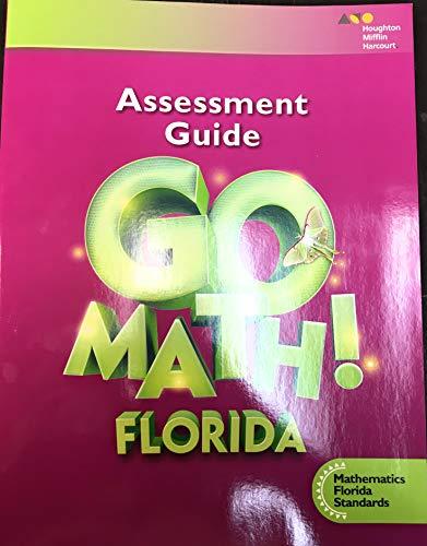 9780544649507: Go Math! Florida: MAFS Preparing Students for Florida Standards Assessments Grade 3