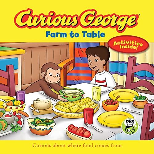 9780544652200: Curious George Farm to Table (CGTV 8x8)