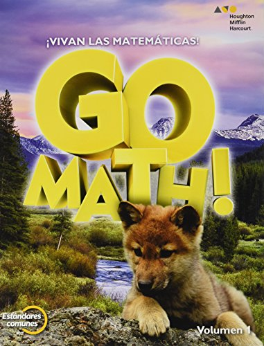 9780544694156: GoMath! Spanish: Student Edition Set Grade 1 2015 (Spanish Edition)