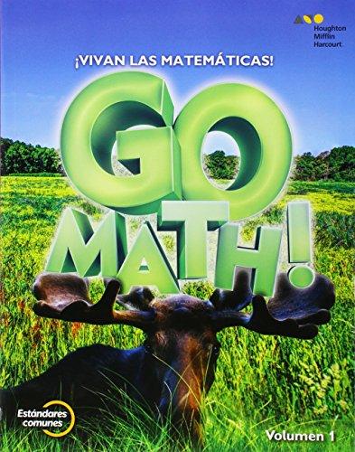 9780544694170: GoMath! Spanish: Student Edition Set Grade 3 2015 (Spanish Edition)