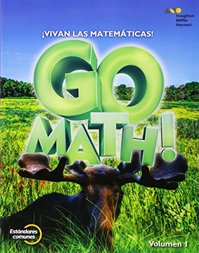 9780544694170: GoMath! Spanish: Student Edition Set Grade 3 2015 (Spanish Edition)