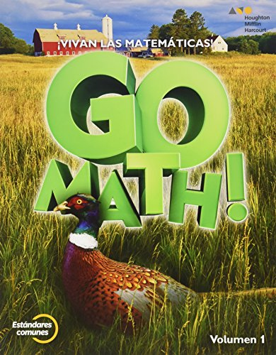 9780544694194: GoMath! Spanish: Student Edition Set Grade 5 2015 (Spanish Edition)