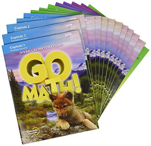 9780544694224: GoMath! Spanish: Student Edition Multi Volume Bundle Grade 1 2015 (Spanish Edition)