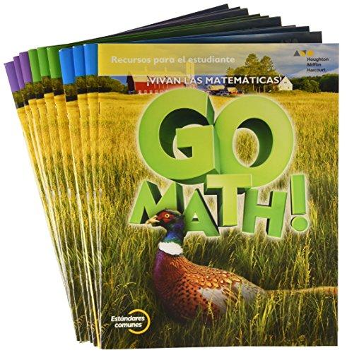 9780544694262: GoMath! Spanish: Student Edition Multi Volume Bundle Grade 5 2015 (Spanish Edition)