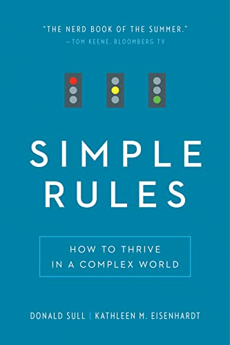 9780544705203: Simple Rules: How to Thrive in a Complex World