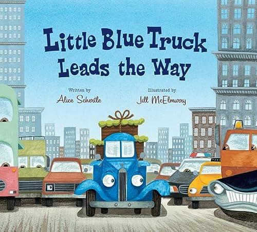 9780544708990: Little Blue Truck Leads the Way (Lap Board Book)