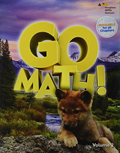 HMH GoMath!: Student Edition (StA) Volume 2 Grade 1 2016: HARCOURT, HOUGHTON MIFFLIN