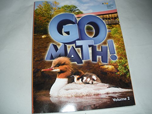 HMH GoMath!: Student Edition (StA) Volume 2 Grade 2 2016: HARCOURT, HOUGHTON MIFFLIN