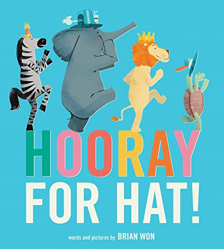 9780544789883: Hooray for Hat! (Board Book)