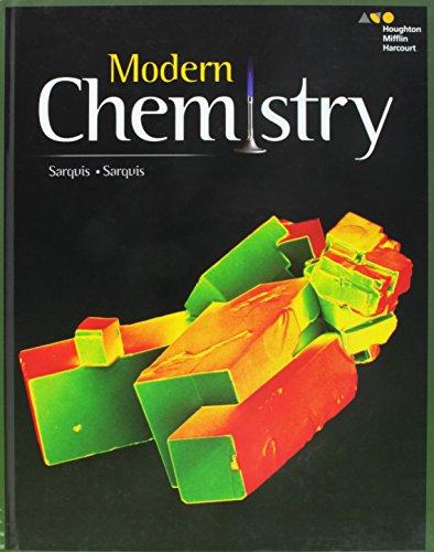 9780544817845: HMH Modern Chemistry: Student Edition 2017