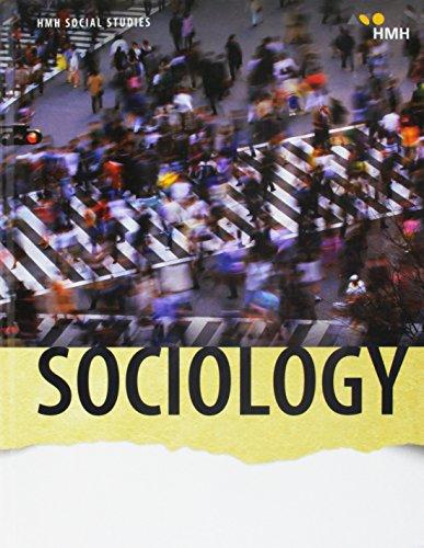 9780544859364: Hmh Social Studies Sociology: Student Edition 2018