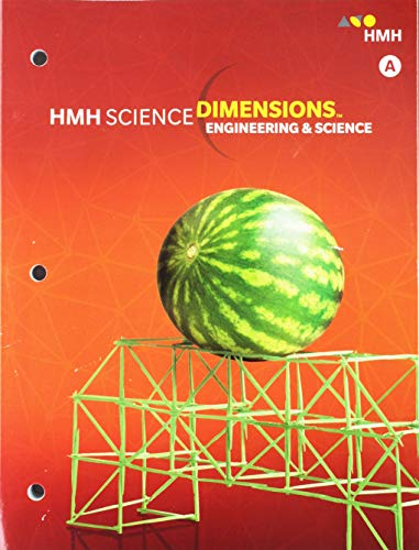 9780544861060: Science Dimensions: Student Edition Module A Grades 6-8 Engineering and Science 2018