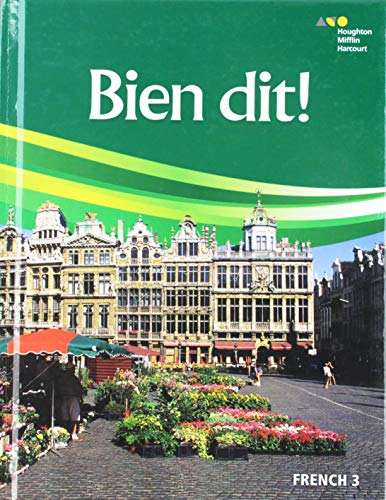 9780544861350: Bien dit!: Student Edition Level 3 2018 (French Edition)