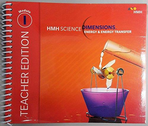 9780544882041 HMH Science Dimensions Teacher Edition