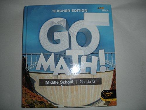 GO Math ! middle school grade 6 teacher
