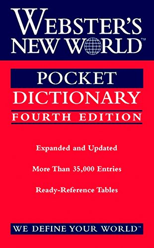 9780544986619: Webster's New World Pocket Dictionary, Fourth Edition