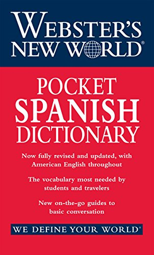 9780544987753: Webster's New World Pocket Spanish Dictionary
