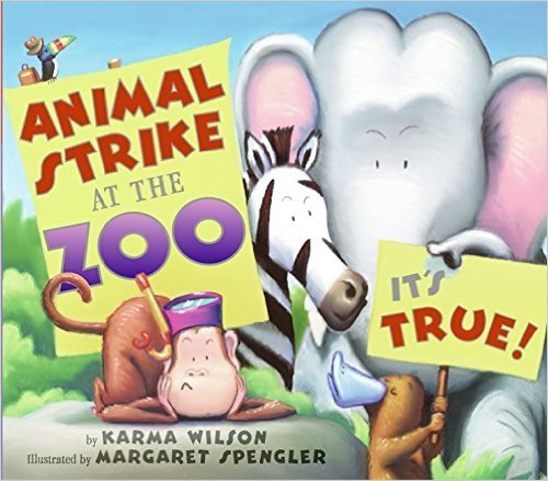 9780545000079: Animal Strike at the Zoo. It's True!