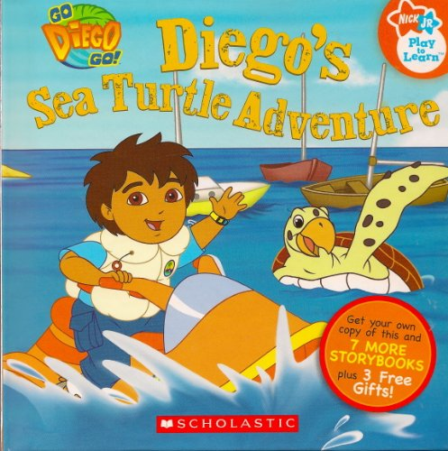 9780545002875: Go Deigo Go Diego's Sea Turtle Adventure