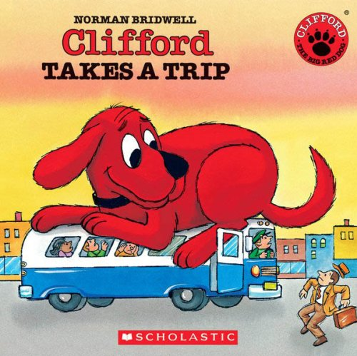 9780545004091: Clifford Takes a Trip - Audio Library Edition