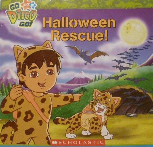 9780545004756: Nick Jr: Go! Diego! Go!: Halloween Rescue!