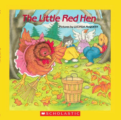 9780545005111: The Little Red Hen - Audio Library Edition