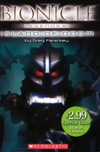 9780545013154: Island of Doom (Bionicle Legends)
