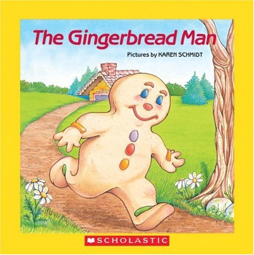 9780545014854: The Gingerbread Man [With Paperback Book]