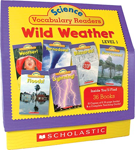 9780545015981: Science Vocabulary Readers: Wild Weather: Level 1
