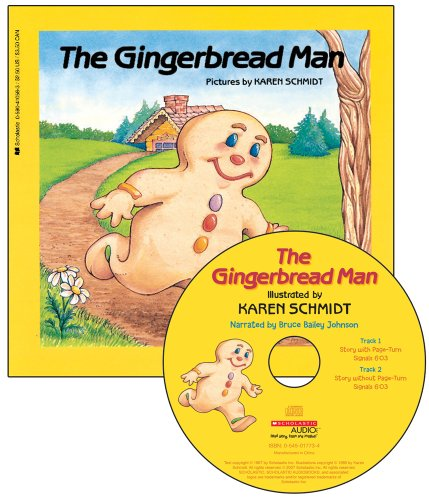 9780545017817: The Gingerbread Man - Audio Library Edition