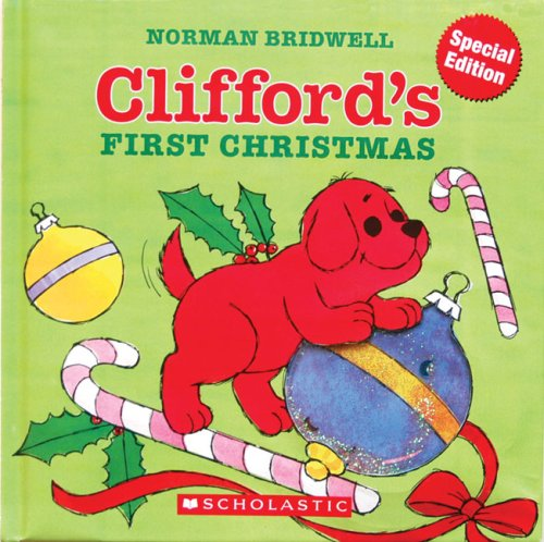 9780545020220: Clifford's First Christmas (Gel Pack Book)