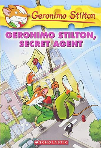 9780545021340: Geronimo Stilton, Secret Agent (Geronimo Stilton, No. 34)
