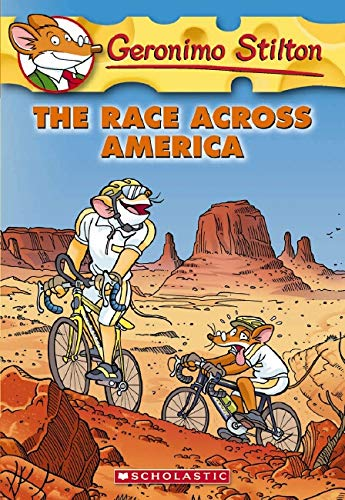 9780545021371: Geronimo Stilton 37 Geronimo Stilton, the Race Across America