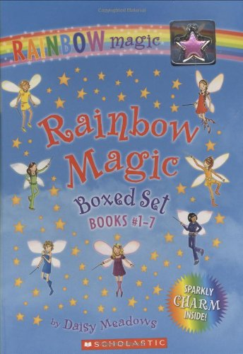 9780545022866: Rainbow Magic 7 Volume Boxed Set: Books #1-7 [With Charm]