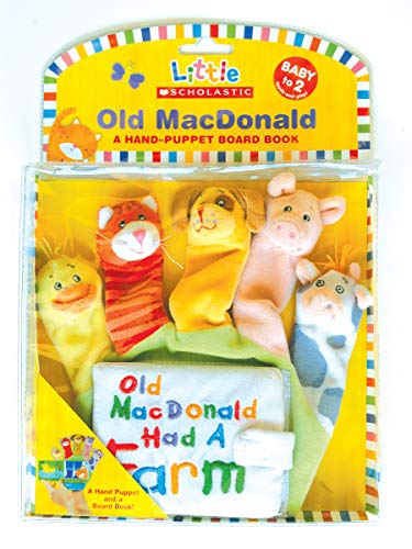 9780545026031: Hand-Puppet Board Books: Old Macdonald
