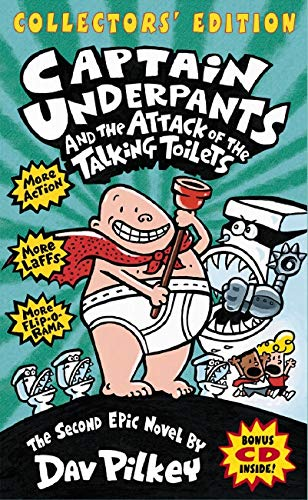 9780545027274: Captain Underpants and the Attack of the Talking Toilets - Collectors' Edition