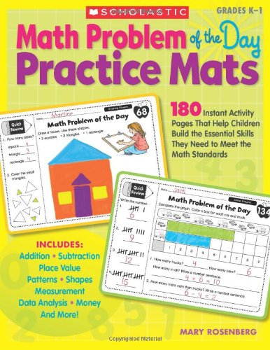 Math Problem of the Day Practice Mats: Rosenberg, Mary