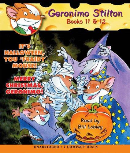 9780545028790: Geronimo Stilton Books 11-12: It's Halloween, You 'Fraidy Mouse!/Merry Christmas, Geronimo!