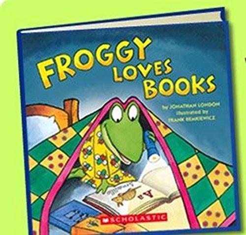 Froggy Loves Books 9780545030144 Froggy Loves Books