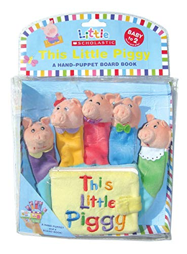 9780545030380: This Little Piggy: A Hand-puppet Board Book