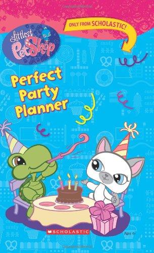 9780545034258: Littlest Pet Shop: Perfect Party Planner