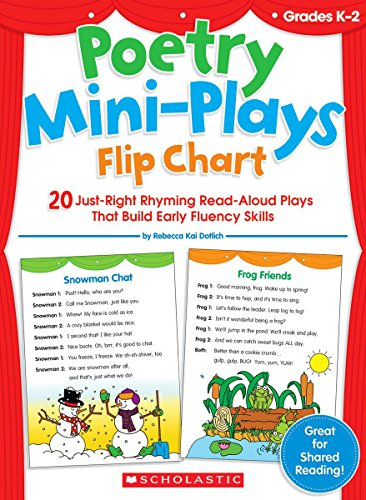 9780545035125: Poetry Mini-Plays Flip Chart: 20 Just-Right Rhyming Read-Aloud Plays that Build Early Fluency Skills