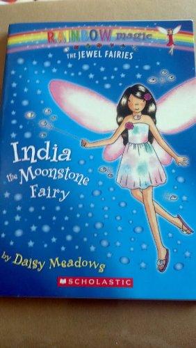9780545039123: Rainbow Magic the Jewel Fairies (india the moonstone fairy)