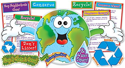 9780545039925: Love Our Planet! Bulletin Board